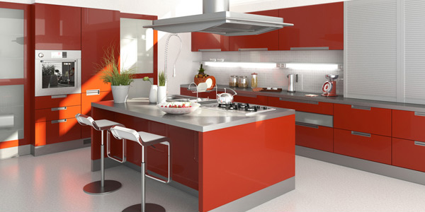 What are the primary types of kitchen countertops, with their benefits and drawbacks?