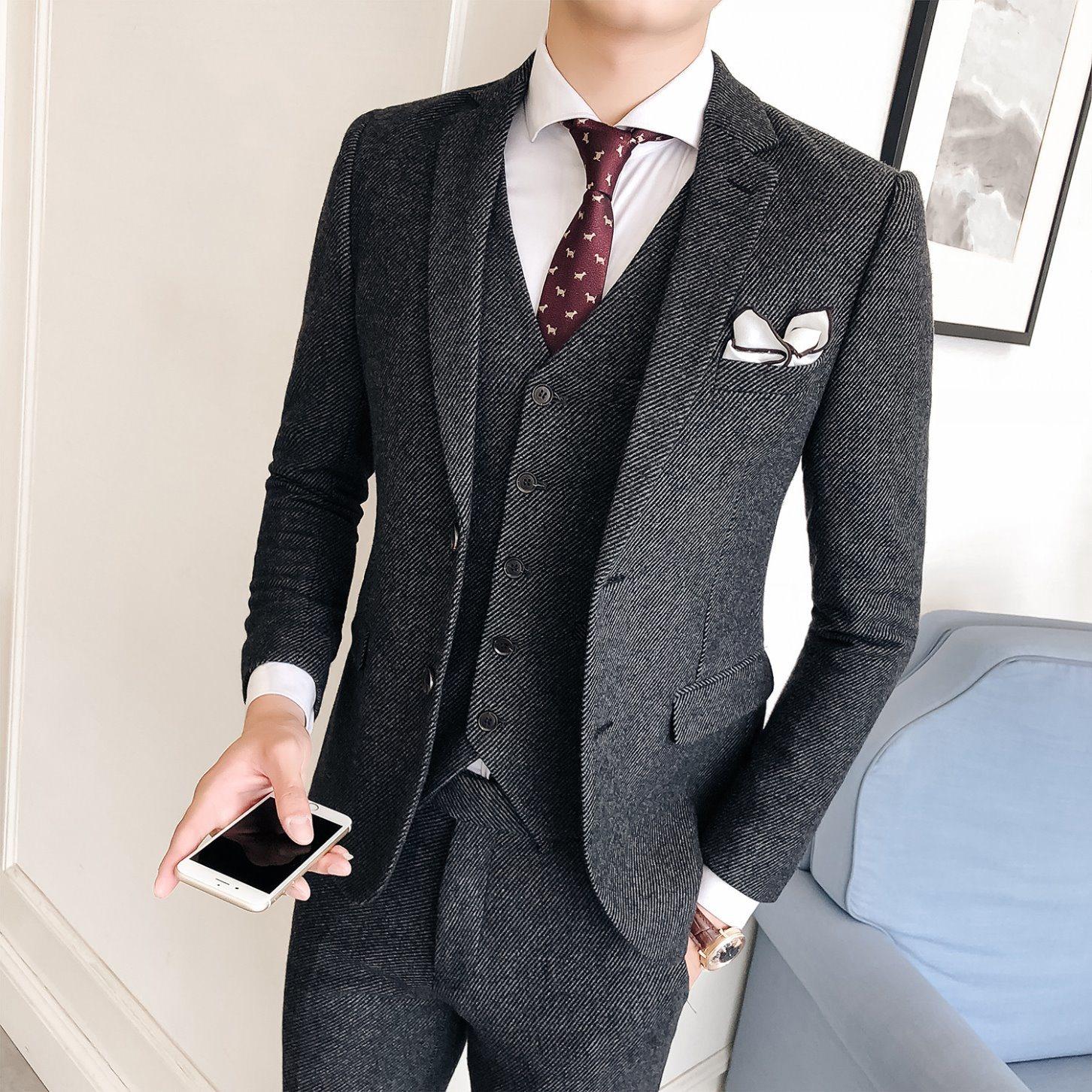 men's apparel business